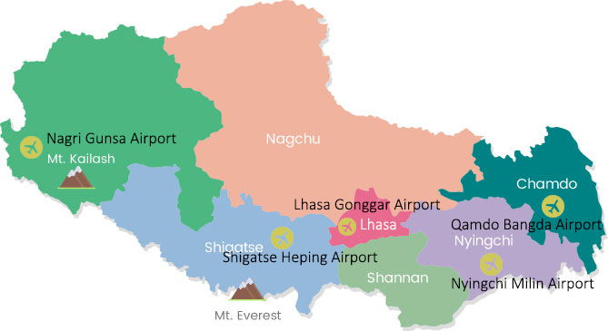 tibet airports