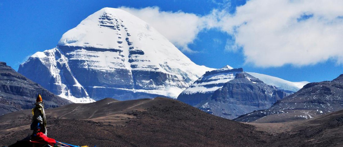 The top of Mt. Kailash is covered with sparkling snow all year round. You will be deeply touched by its sacred and solemn face!