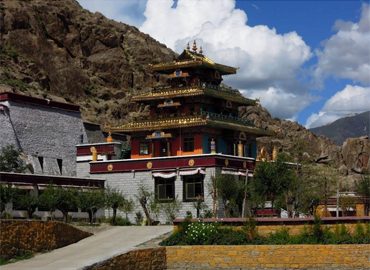 Tholing Monastery is the oldest monastery (or gompa) in the Ngari