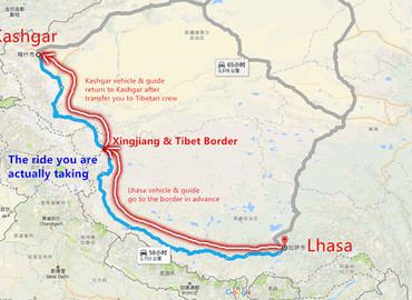 Tibet Overland Routes