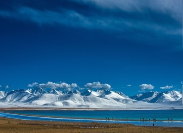 Namtso lake is one of the 3 holy lakes in Tibet.