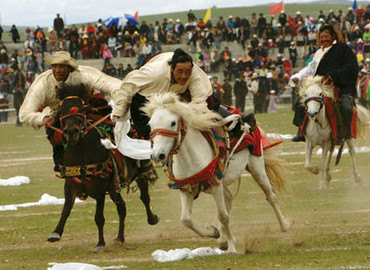 Damgxung Horse Racing Festival