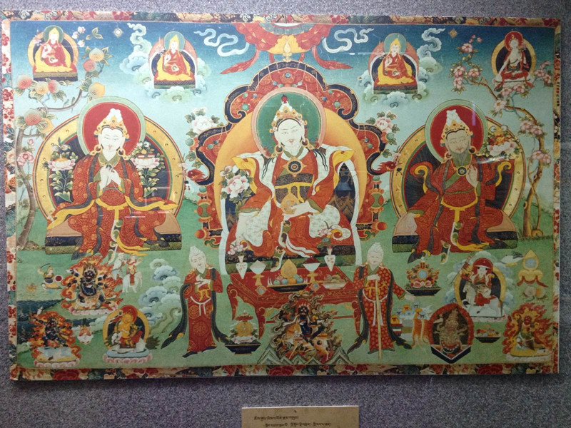 the three kings of Tibet who supported Buddhism