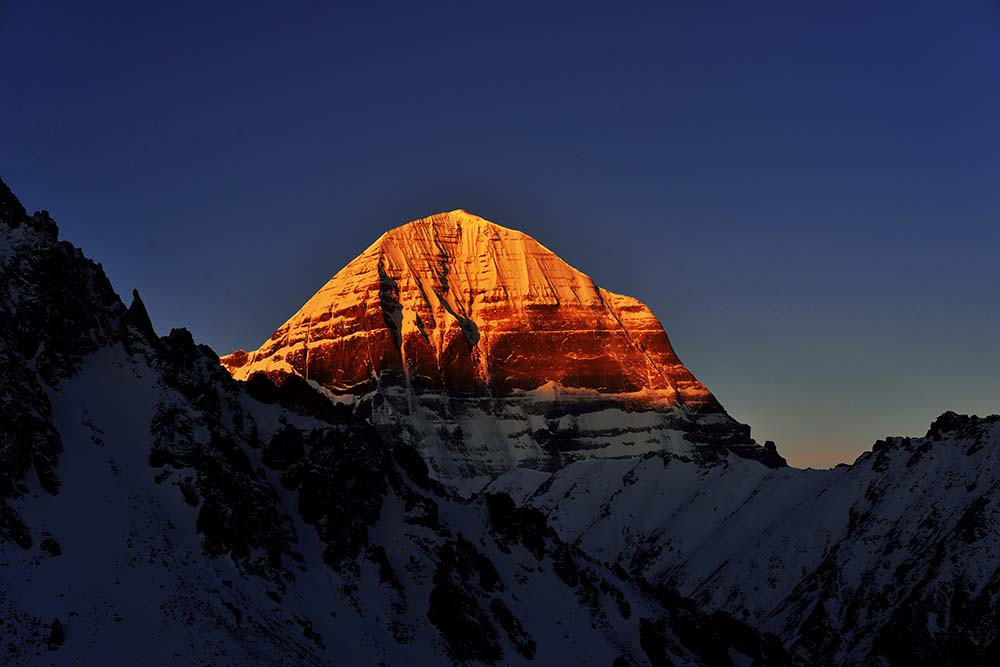 The holy Mt. Kailash