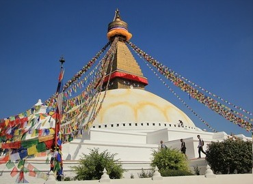 Nepal is recognized as the kingdom of the Himalayas, with 10 UNESCO cultural and natural heritage sites.