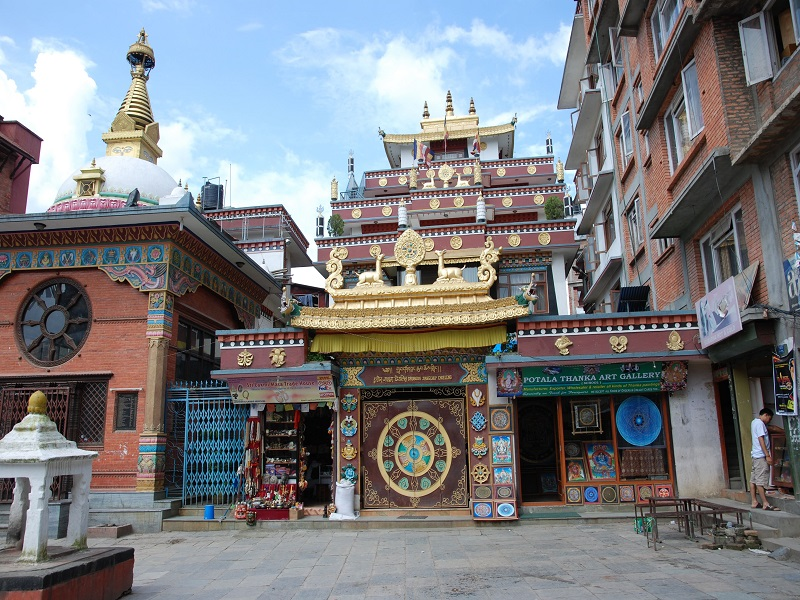 Kathmandu, the capital city of Nepal