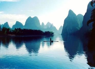 Guilin is famous for its Karst landscape