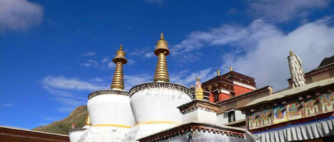 You will view different sections of Tibetan Buddhism.