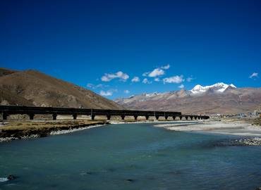 You will view the most essential scenery of Qinghai-Tibet Plateau along the railway from Shanghai to Lhasa.