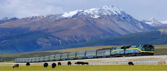 If you get on the train from Xi'ning to Lhasa, you will view the most essential scenery of Qinghai-Tibet Plateau, just like watching a Blockbuster Movie!