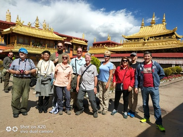 We are having a tour in Jokhang Temple.