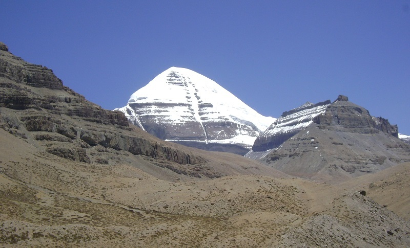 Mt Kailash is regarded as the center of the world.