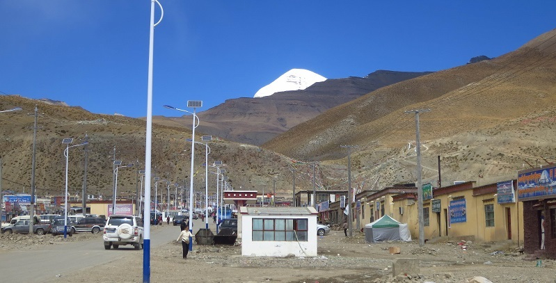 Tarchen is a small mountain village located at the foot of the Mount Kailash and is also the starting point of Kailash trekking.